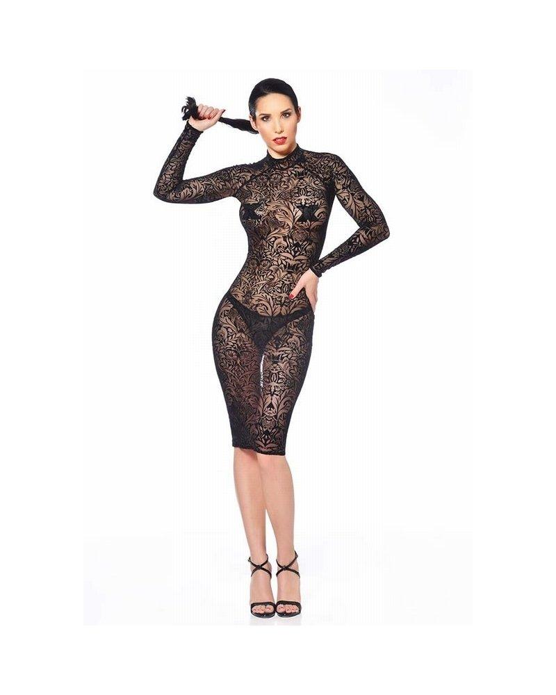Patrice Catanzaro Azia Maori Mesh Dress