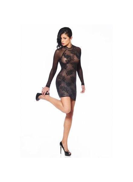 Patrice Catanzaro Agniezka Mesh Dress