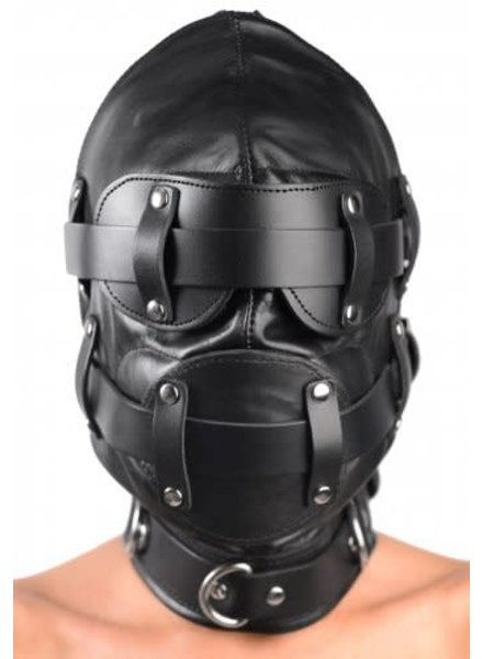 Total Lockdwon Leather Hood