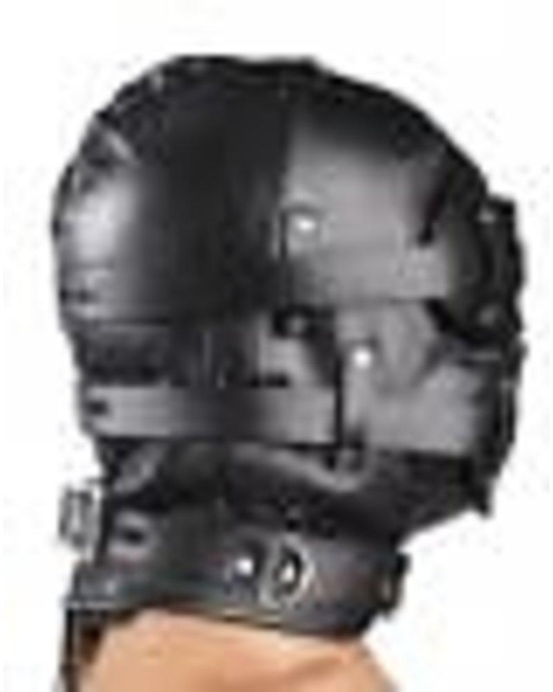 Total Lockdwon Leather Hood