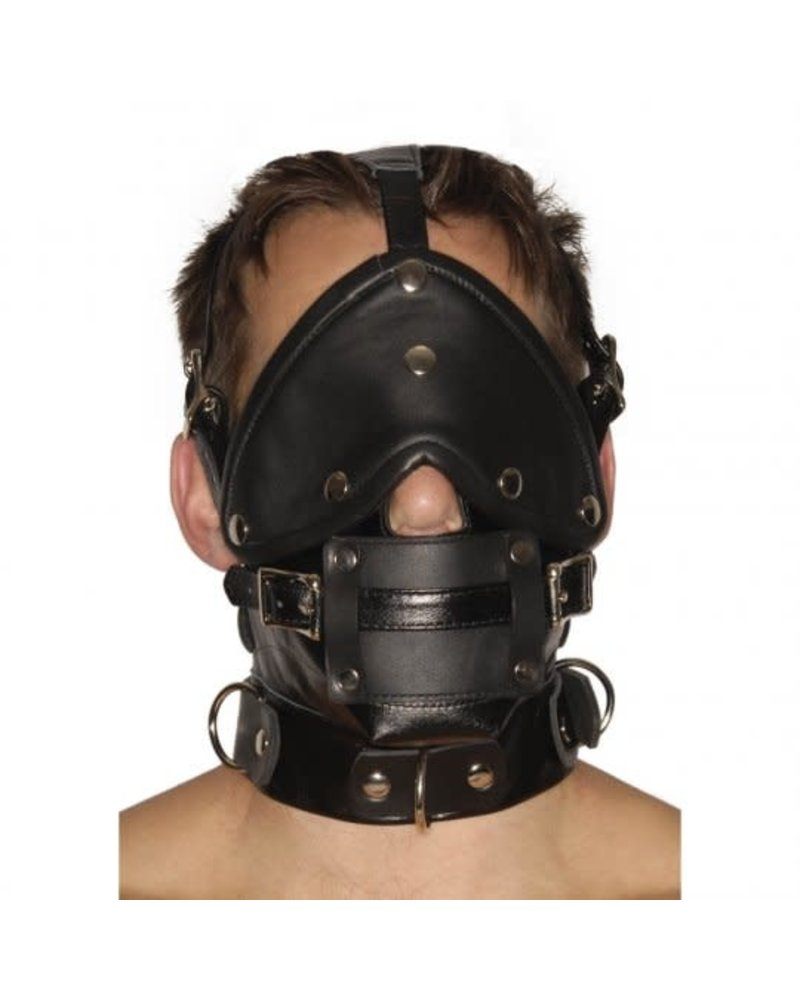 Premium Muzzle with Blindfold and Gags