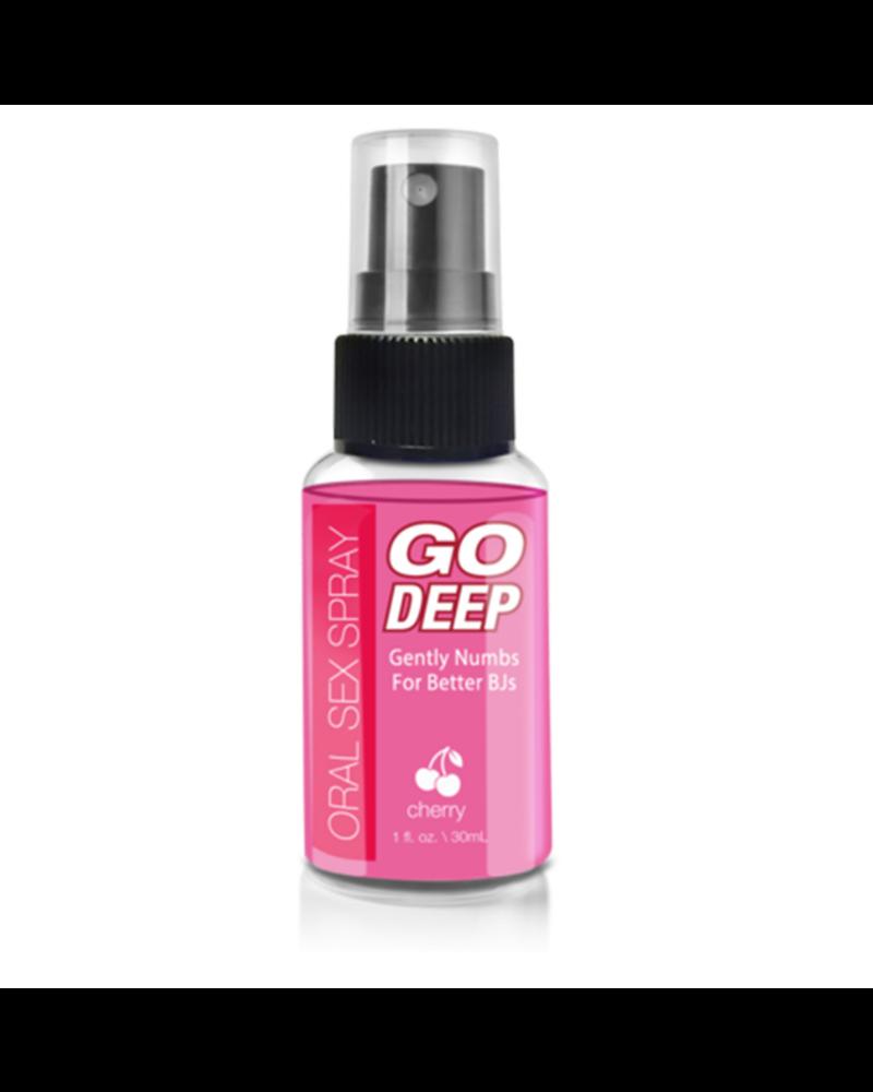 Go Deep Oral Sex Spray Cherry