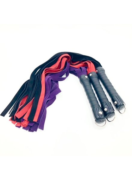 TOF INC Deluxe Suede Flogger 30""
