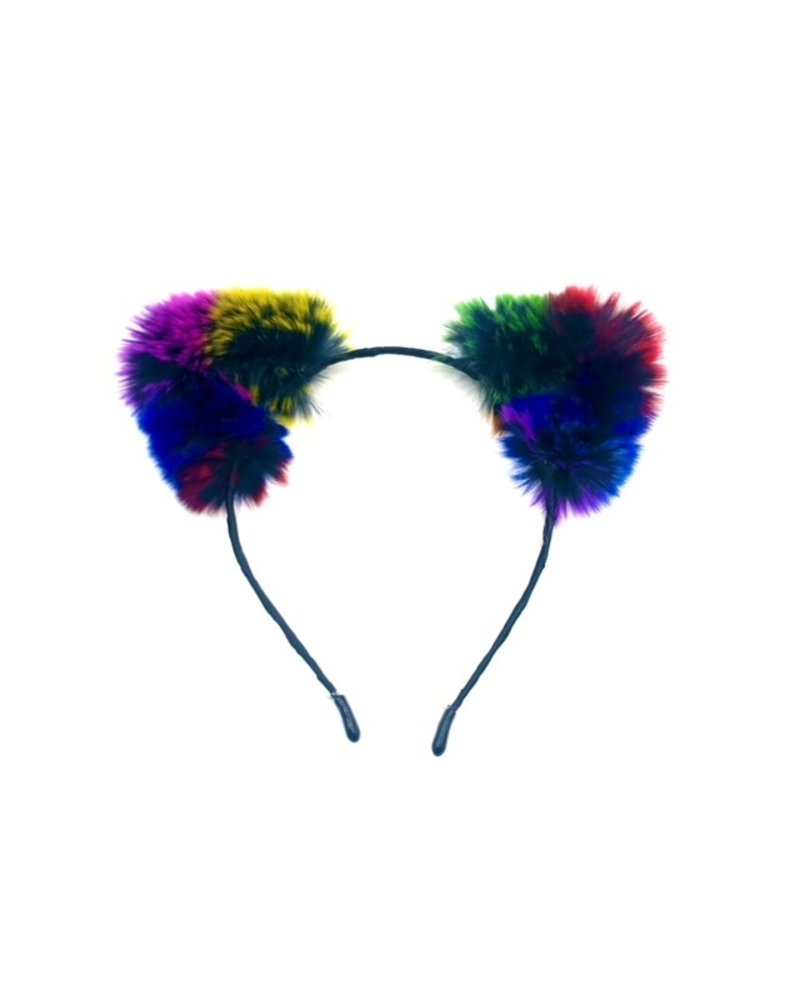 TOF INC Rex Rabbit fur cat ears