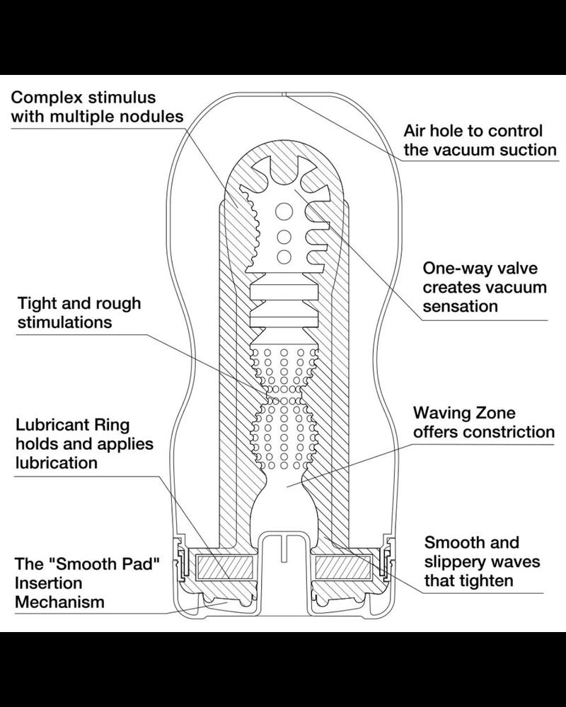 Tenga Tenga Original Vacuum Cup - Ultra Size