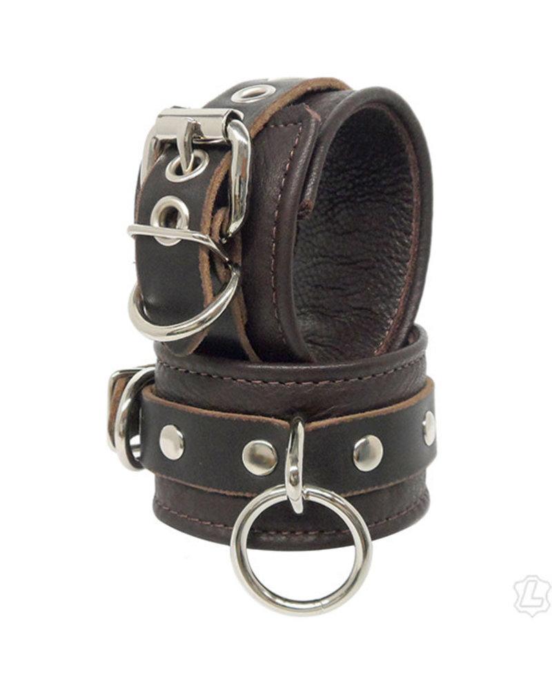 Kookie Leather Lined Wrist Cuffs
