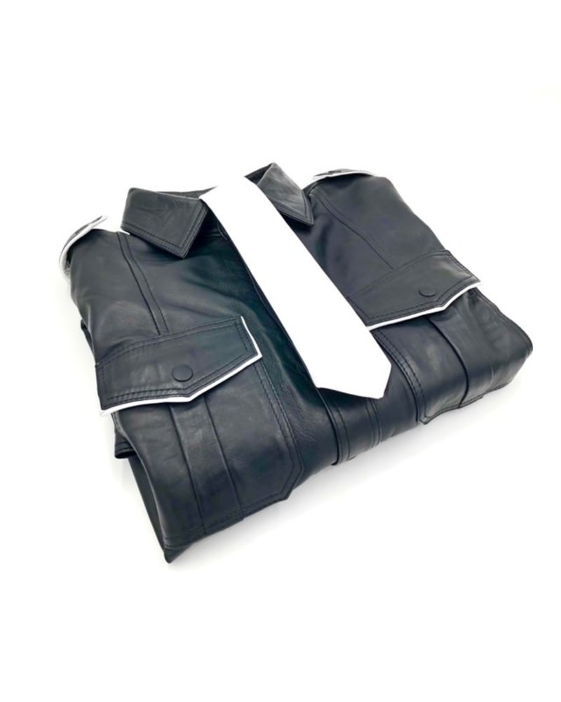 Fisted Leather Police Shirts