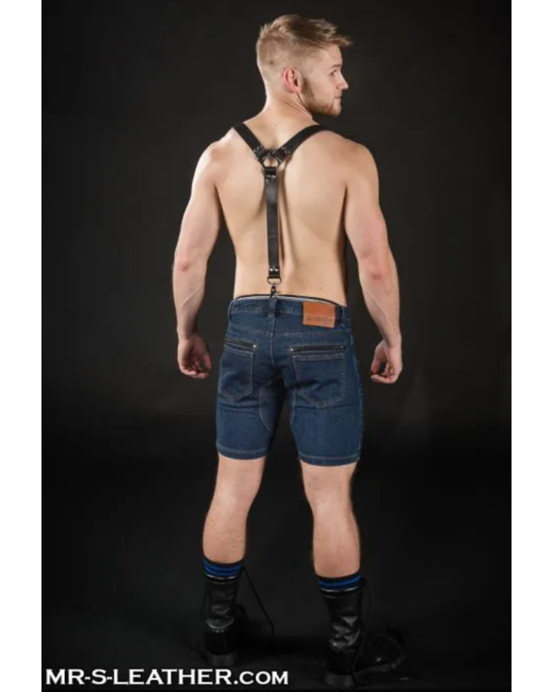 Mr. S Leather Leather Double Duty Suspenders