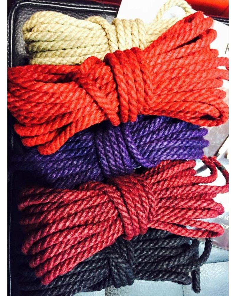 Twisted Monk Rope- Hemp