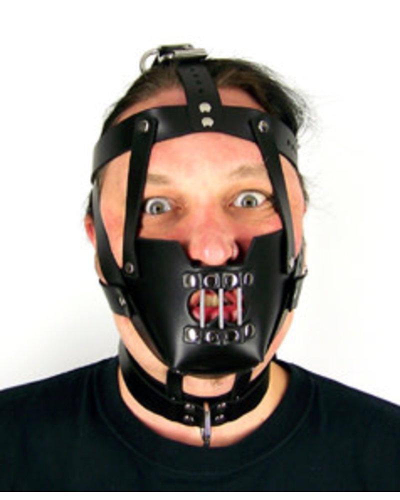 Axovus LLC Hannibal Leather Bondage Hood