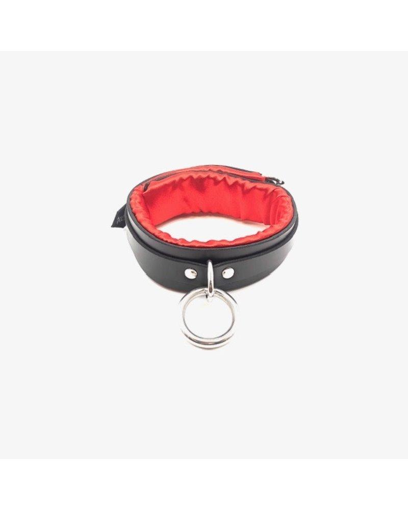 Axovus LLC Locking Black Satin Padded Collar
