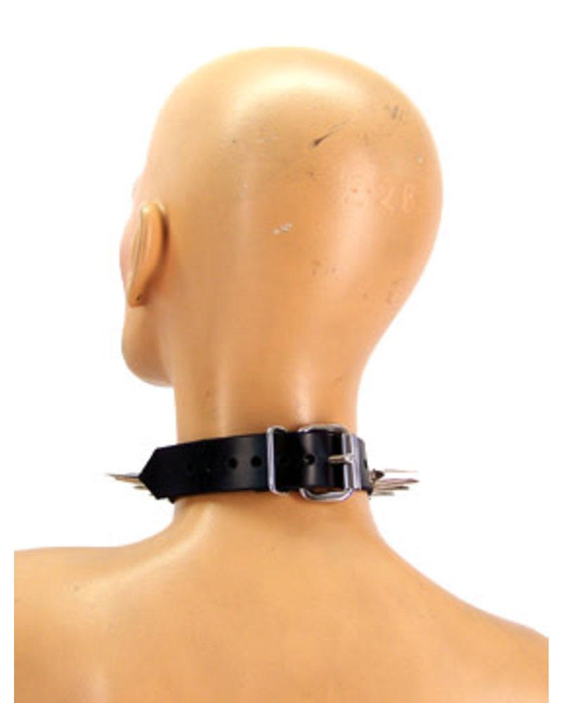 Axovus LLC Spike Sub Leather Bondage Collar