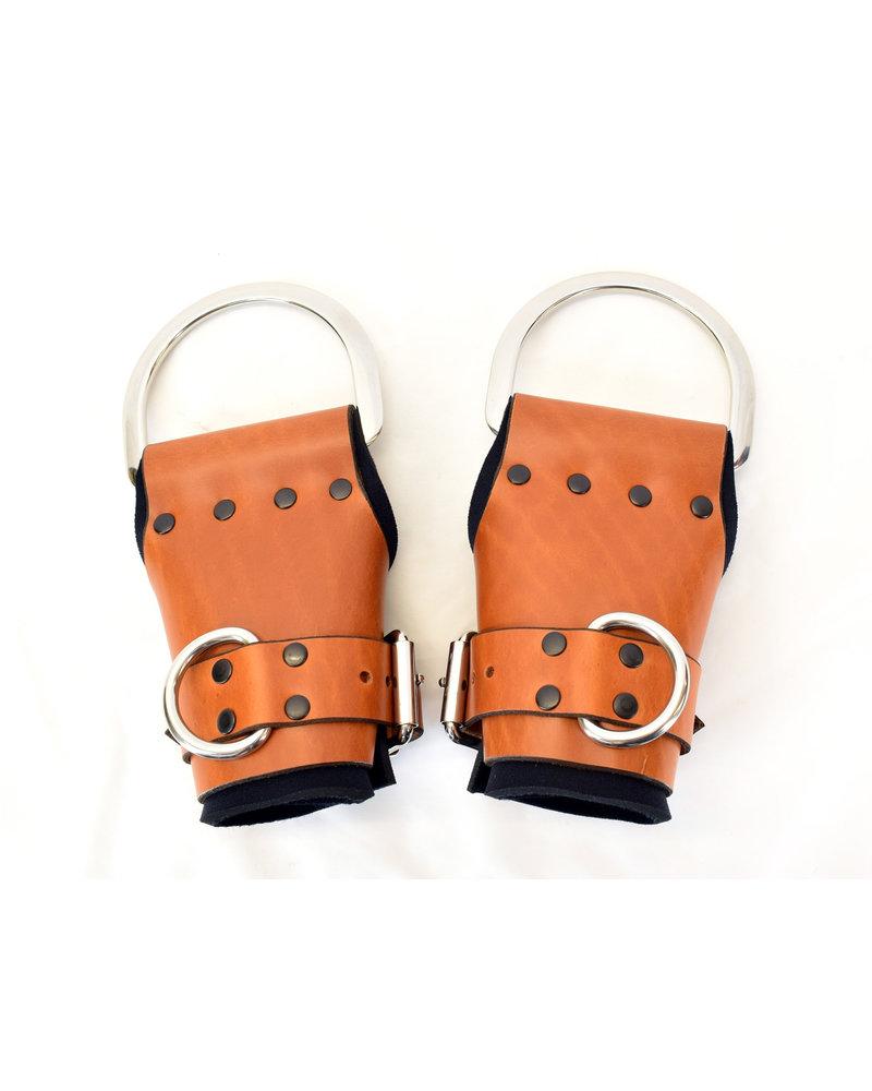 Axovus LLC The Multi-Cuff Leather Wrist Suspension Cuffs