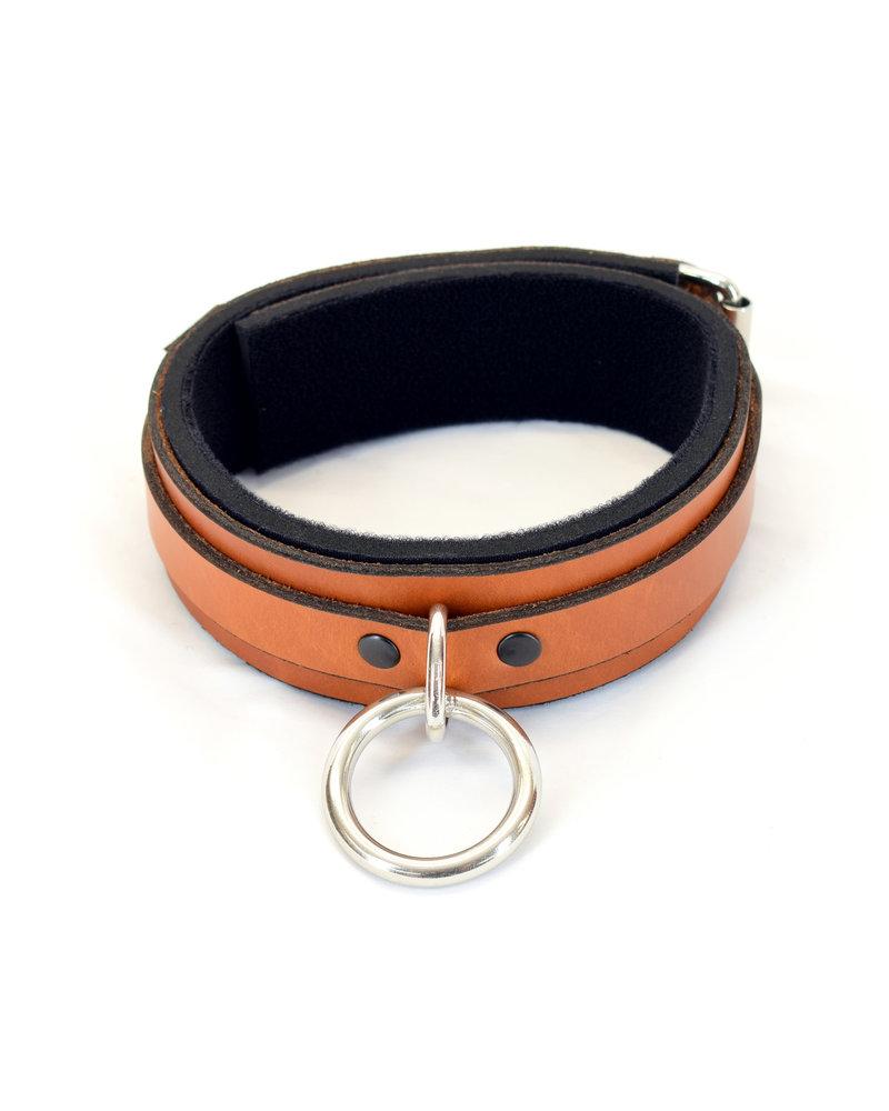 Axovus LLC Classic Leather Padded Bondage Collar