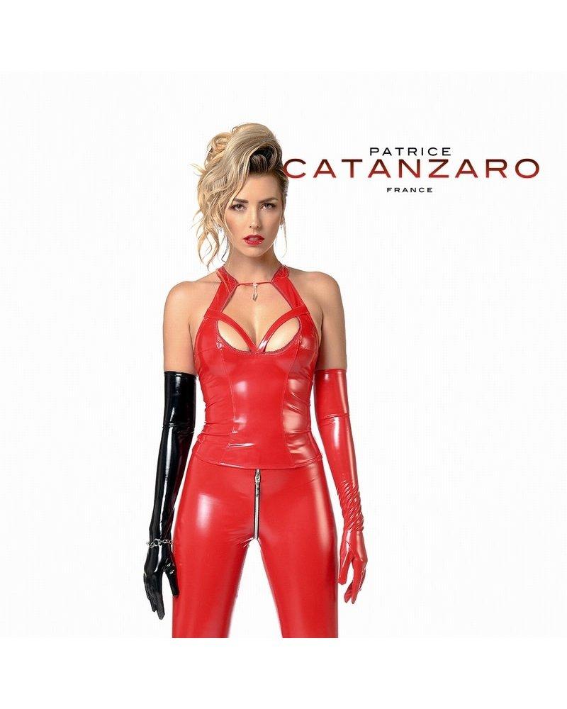 Patrice Catanzaro Grace Top Red Vinyl