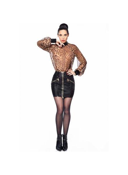 Patrice Catanzaro Emilia  Vinyl Skirt
