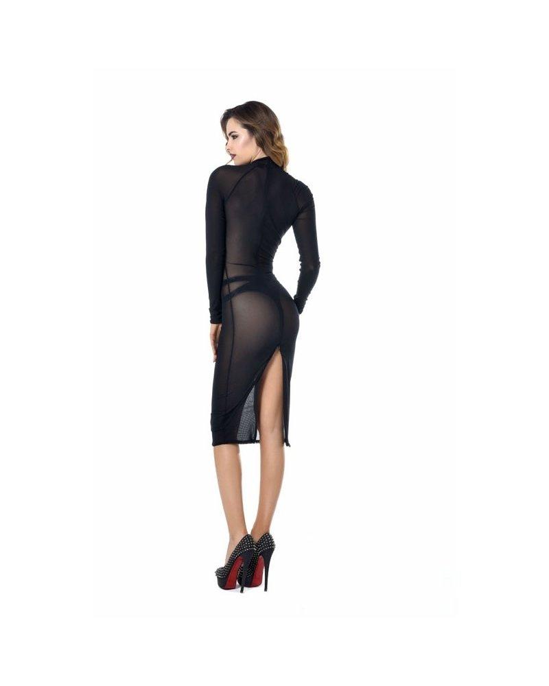 Patrice Catanzaro Azia Sheer Dress