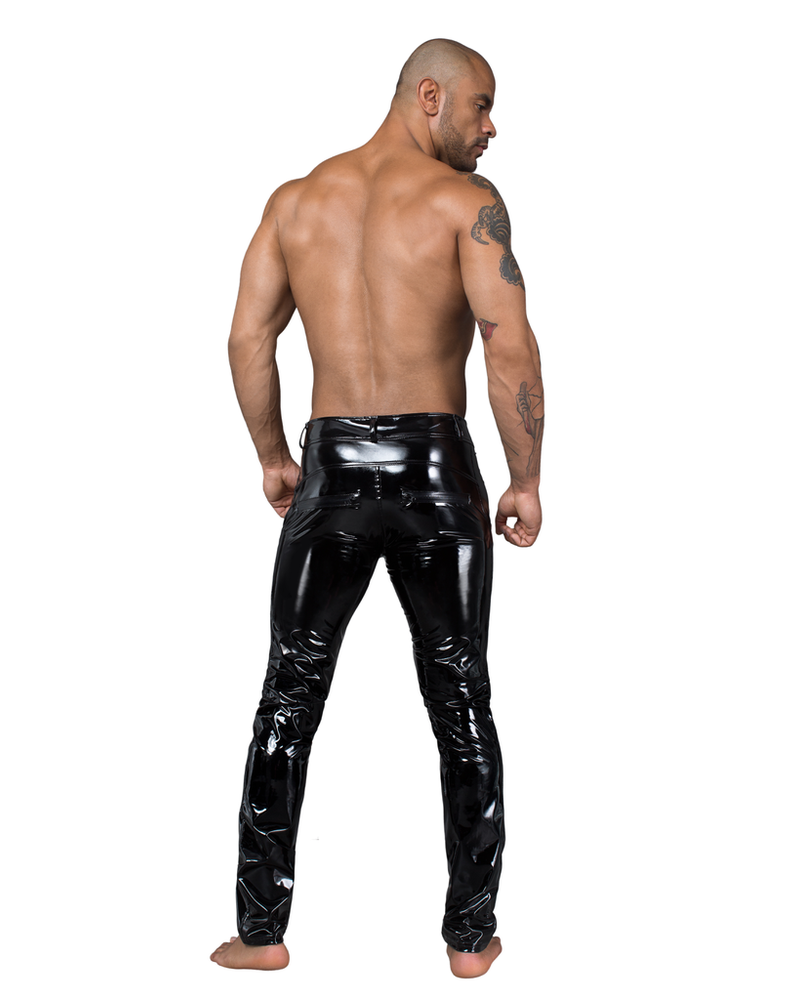 Noir Handmade PVC Shinny pants