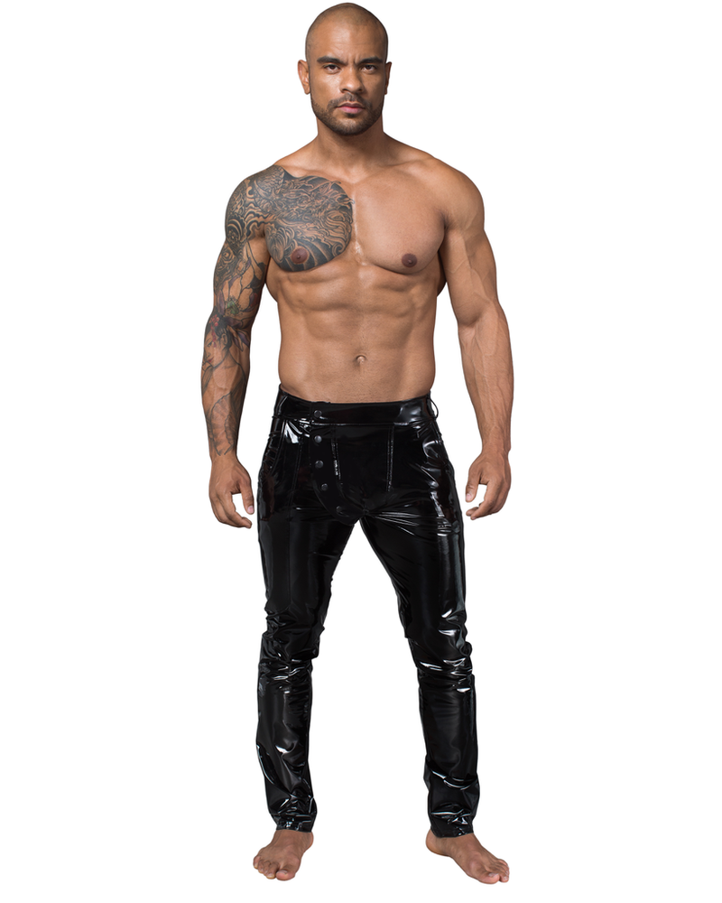 PVC Shinny pants