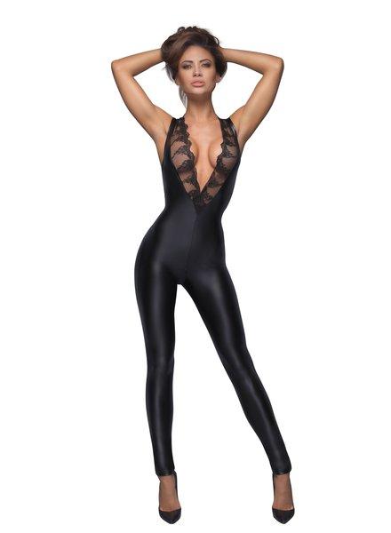 Noir Handmade Sleeveless and lacy bodysuit
