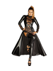Noir Handmade DIVALICIAOUS -Long Gown with lace trims