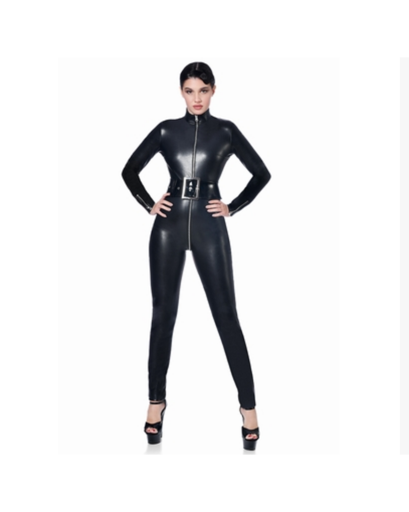 Patrice Catanzaro Sweety Faux Leather catsuit