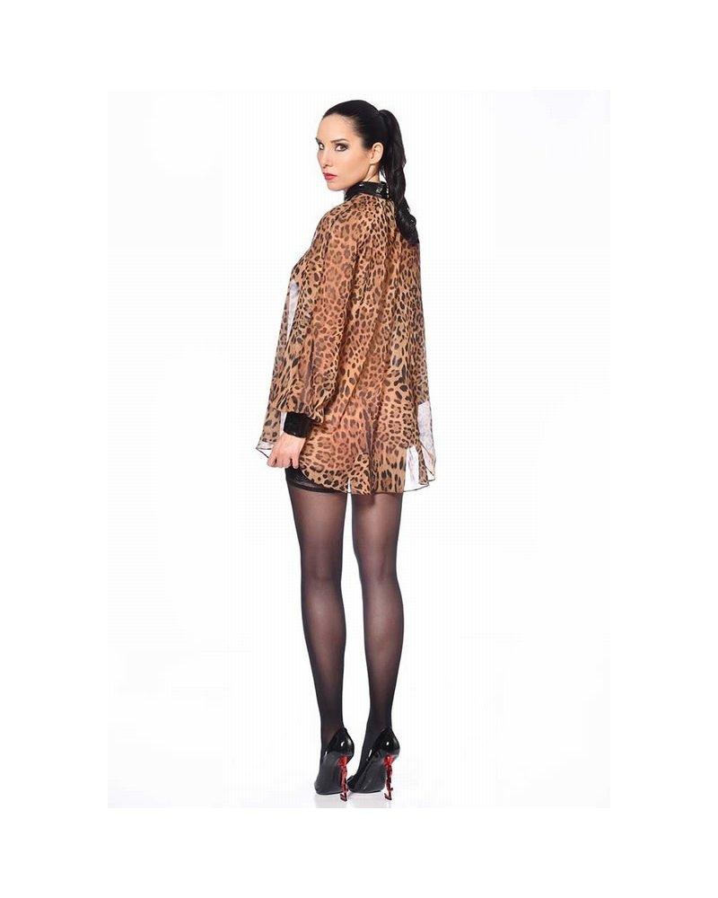 Patrice Catanzaro Emilia Leopard Blouse