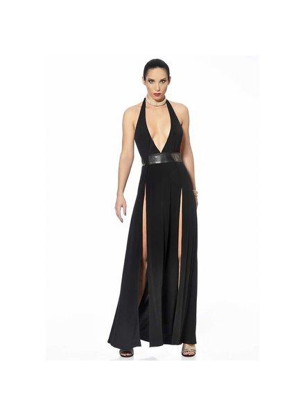 Patrice Catanzaro Isabella Black Dress