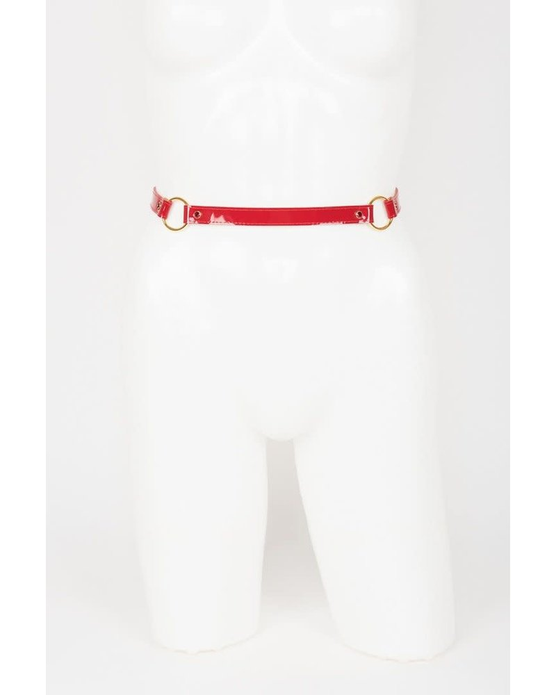 Fräulein Kink Red Hot Garter Belt