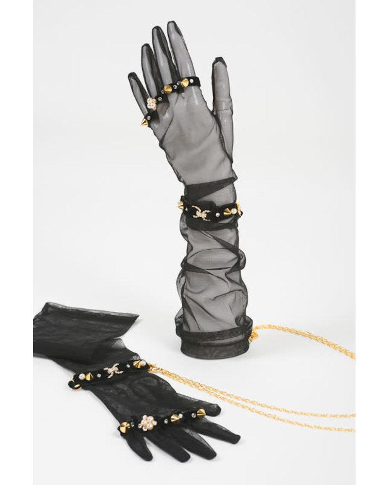 Fräulein Kink Tulle Glove Handcuffs