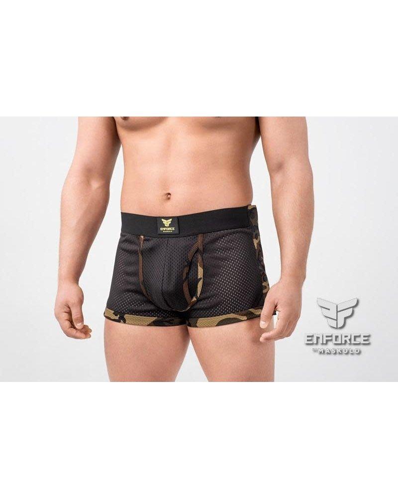 Maskulo EnForce Snapped Shorts