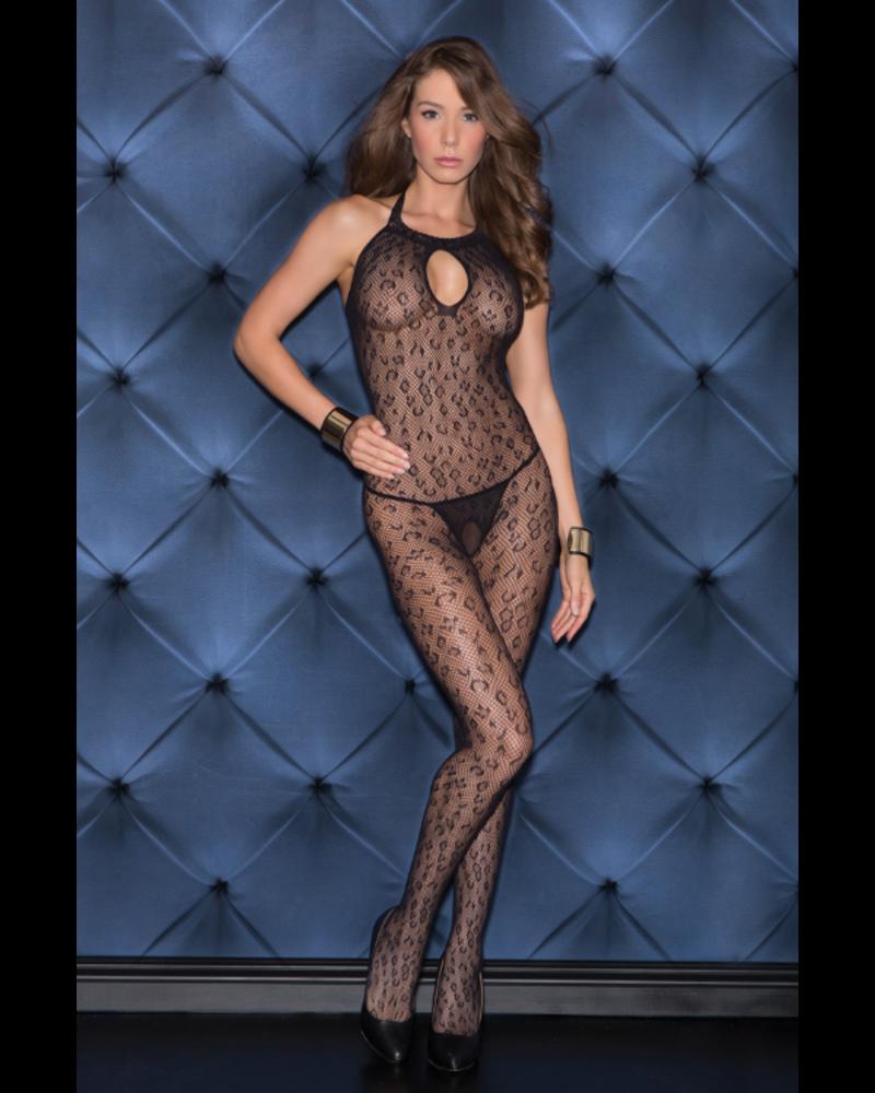 Golyta Animal print halter bodysuit