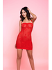 Golyta Red Open Heart Chemise
