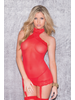 Golyta Mesh And Lace Halter Chemise