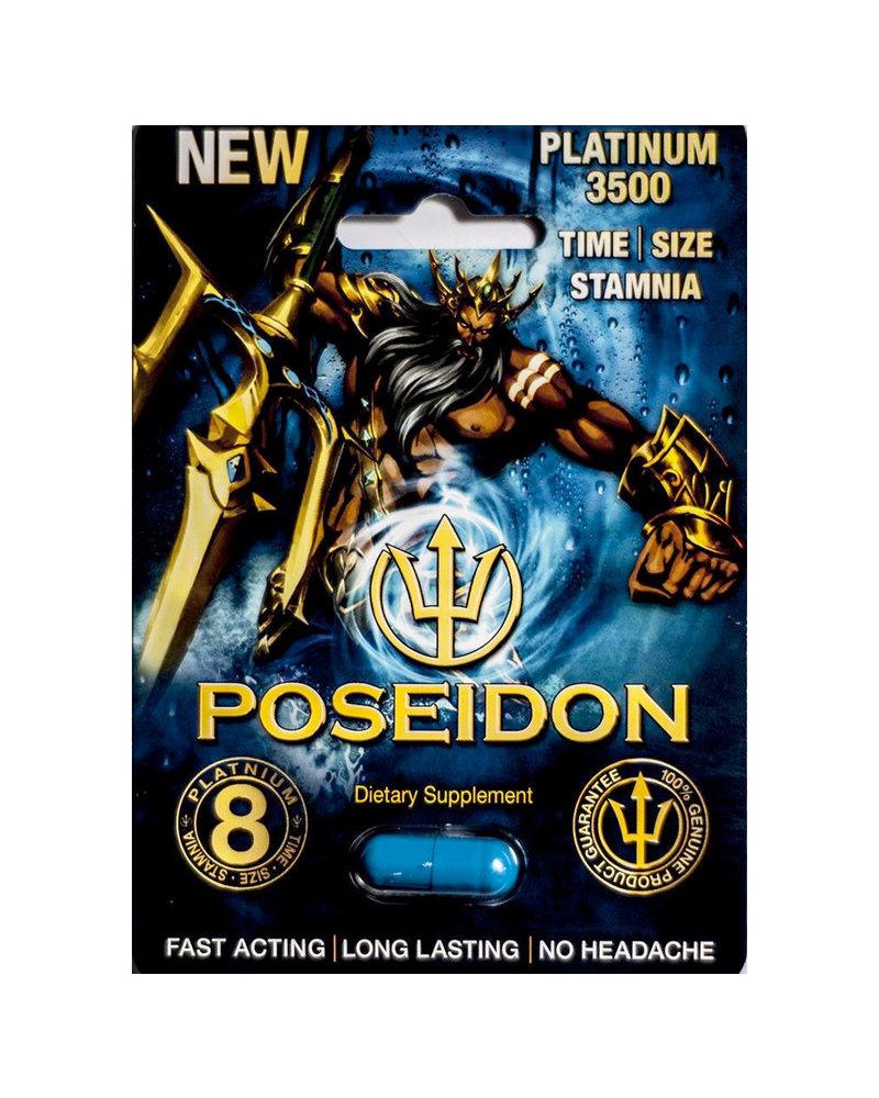 Poseidon Platinum 3500 Male Supplement