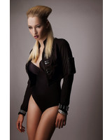 Tatjana Warnecke Tux Crop Jacket