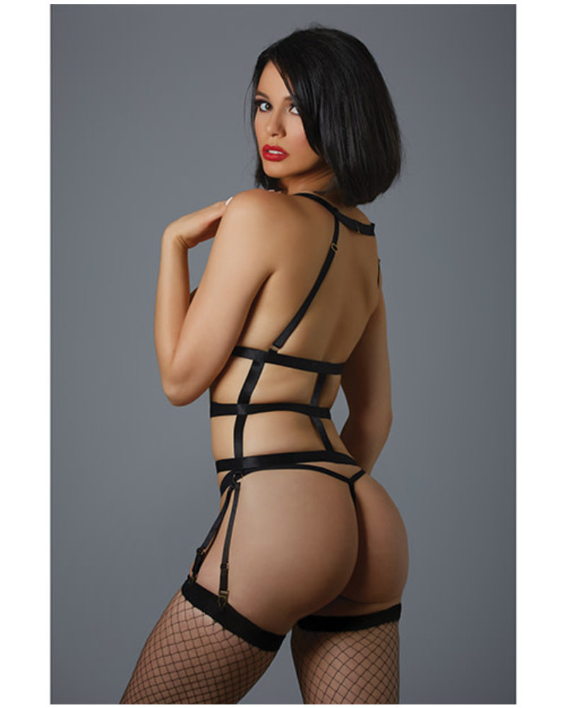 Allure Lingerie One Night Stand Corselette & G-String