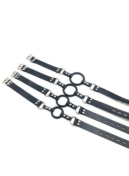 MBE International LLC Ring gag with thin straps