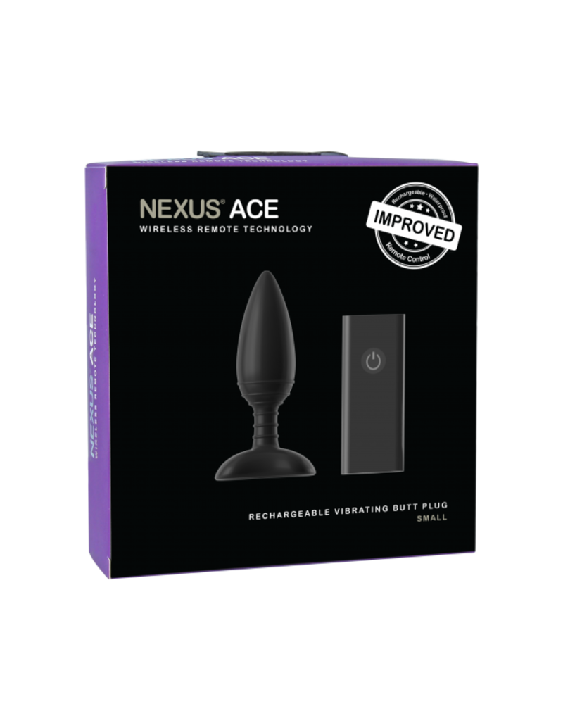 Nexus Nexus Ace  Remote Control Vibrating Butt Plug