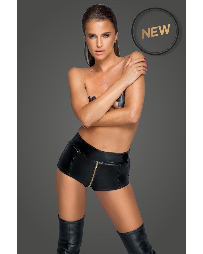 Noir Handmade Sexy shorts with full zip