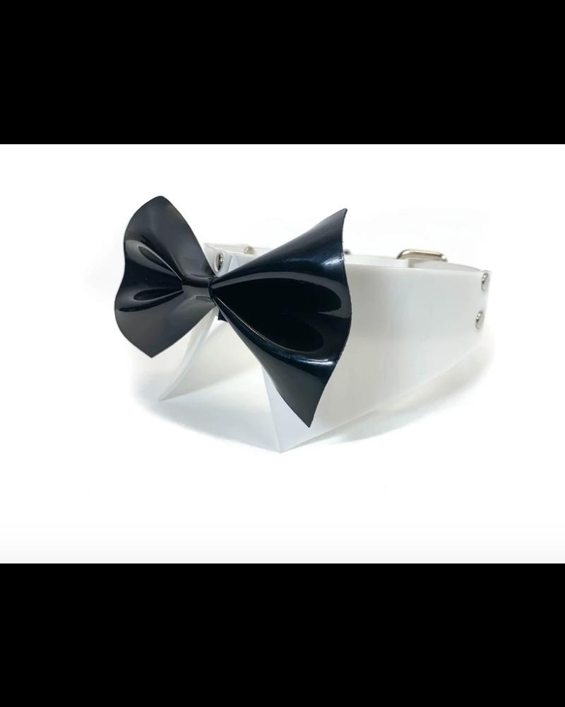 Kulla Vinyl Bowtie collar/ cuff