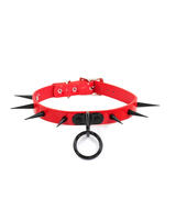 FPINC Black spike fashion choker