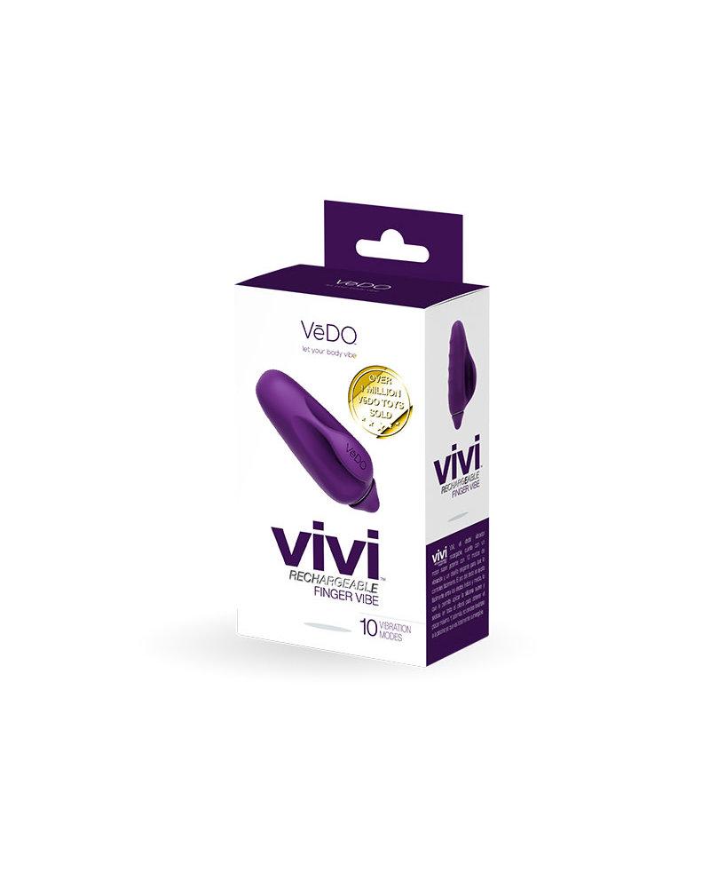 VeDO Vedo Vivi Rechargeable Finger Vibe Tease Me