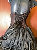 Bondesque Goth Prom Lace waspie