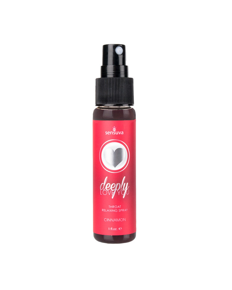 Sensuva Deeply Love You Throat Relaxing Spray 1oz