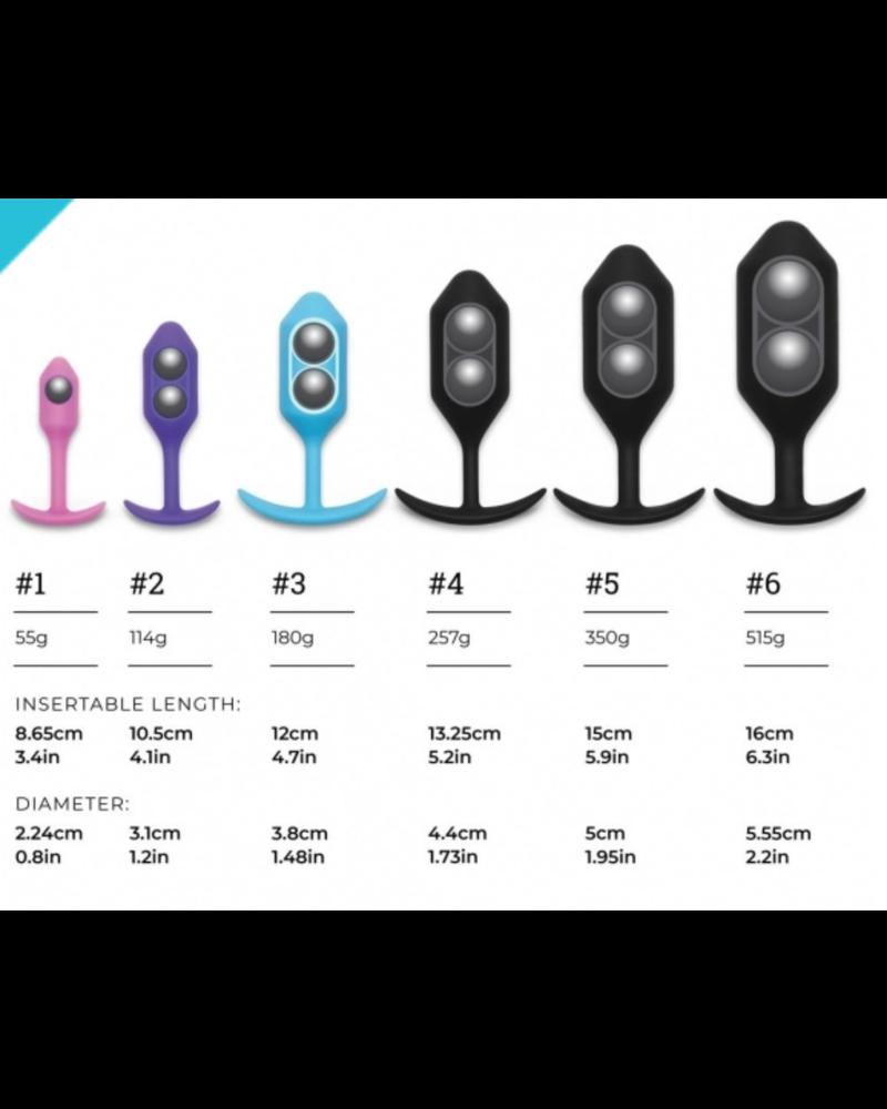 b-Vibe b-Vibe Snug Plug 6