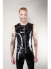 Latex101 Marbled zip top