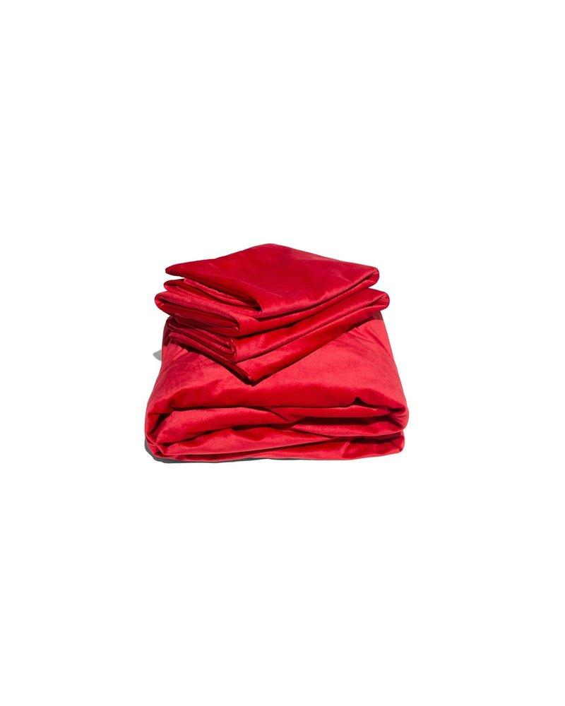 LIBERATOR Liquid Velvet Sheet & Pillow Covers