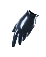 VexClothing Cropped latex  gloves