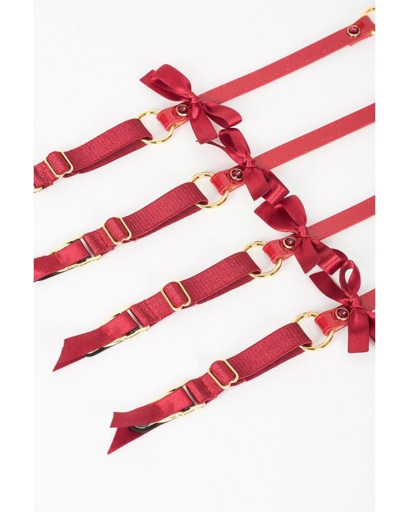 Fräulein Kink Red Hot Garter Belt